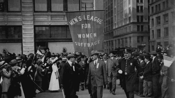 "Joseph Hanover & The ""Suffragents"""