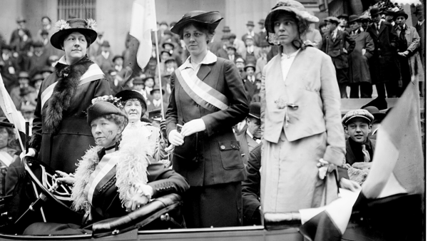 The Very Queer History of the Suffrage Movement