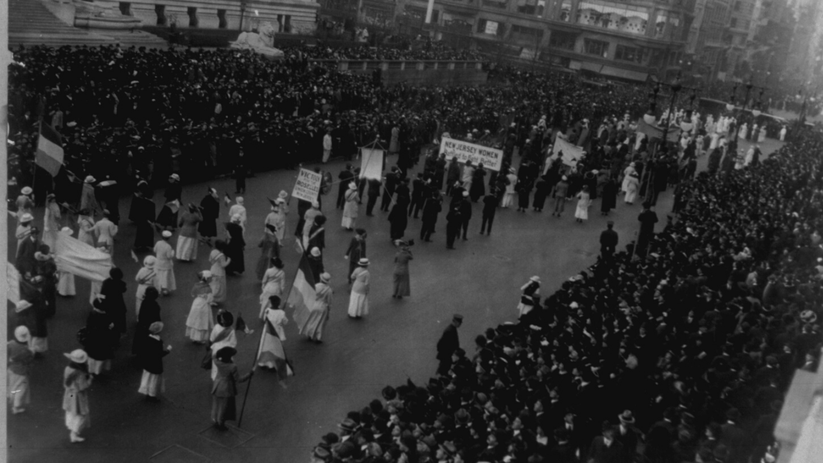 Woman Suffrage in Black and White
