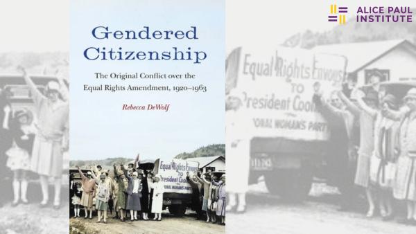 Gendered Citizenship with Rebecca DeWolf